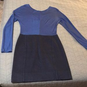 Navy structured dress by Marc Jacobs